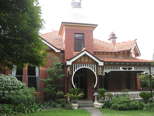 """Locksley"", a Queen Anne Mansion - Ballarat"