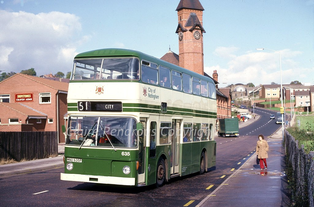 Craven Arms Woodborough Road Nottingham 1980