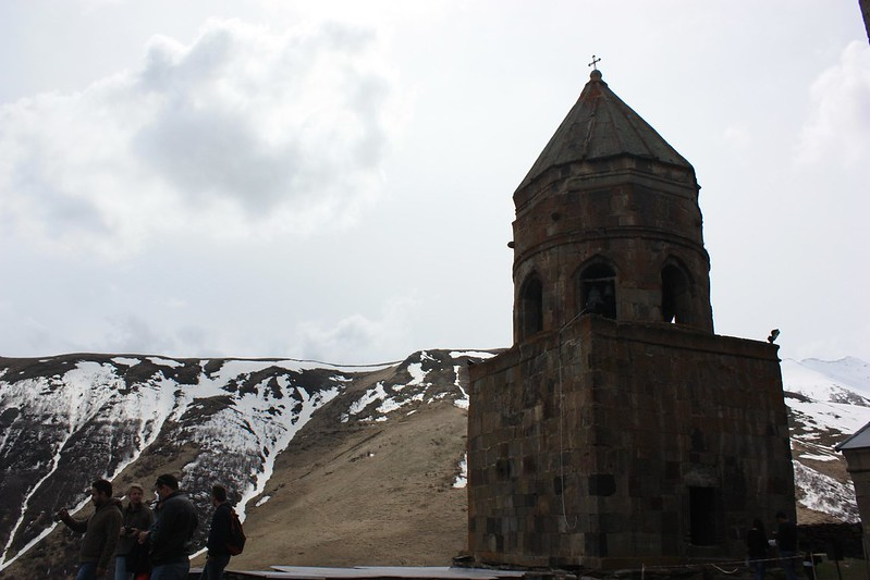 Казбеги, Троицкая церковь
