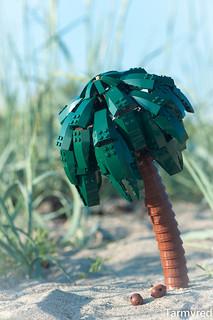 Palmier LEGO