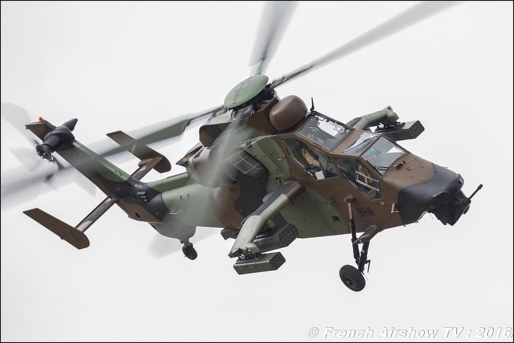 Eurocopter EC665 Tigre , Aviation légère de l'Armée de terre , hélicoptères Tigre HAP , ALAT ,lieux, Meeting Aerien 2016 , Canon Reflex , EOS System
