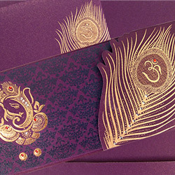 Choose Your Hindu Wedding Card Invitation With Special Ele