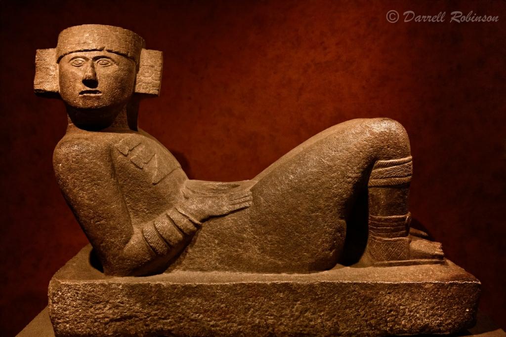 Chac-Mool   I visited the Museo Nacional de Antropología ...