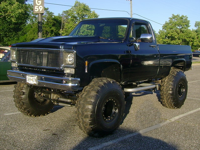 1977 Chevy K-10 | Lost in the 50s Cruise Night, Marley ...
