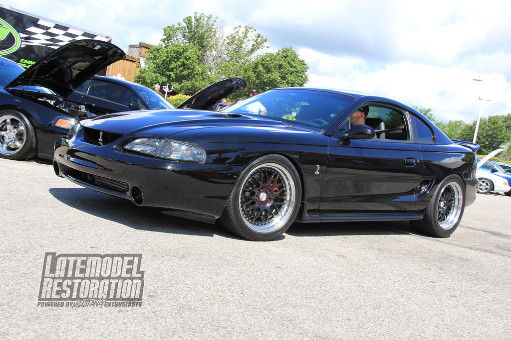 Flickr Week At Forged With Sn95 2… Wheels True Black Cobra Mustang