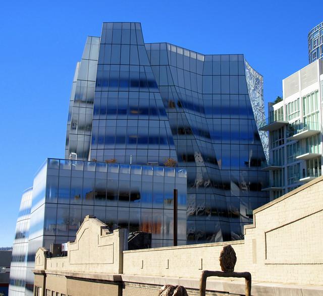 Ice Block Building High Line Walk Manhattan Flickr