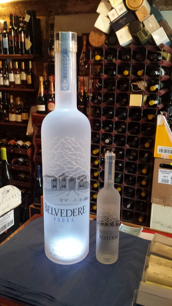 Prim Rfarben 6 litre belvedere vodka with light in base 6 litre belvede flickr