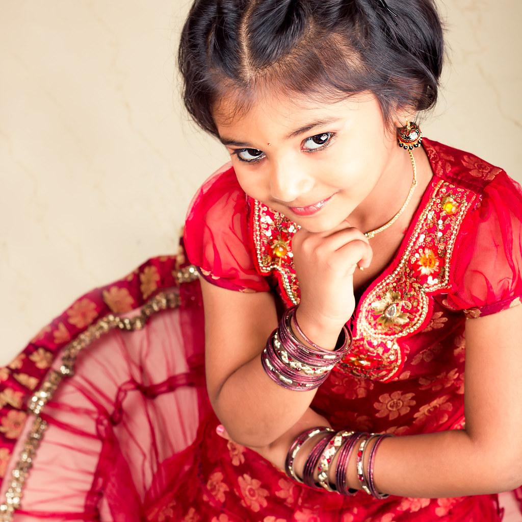 Traditional Looks  Model Baby Lavanya Style Preethi -5789