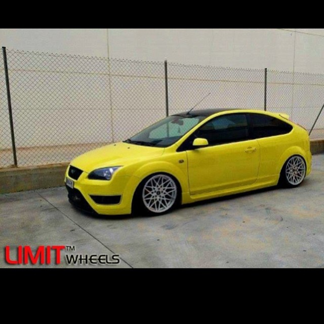Lemon Ford Focus St Limit Spider 18 Quot Silver Polished Edi