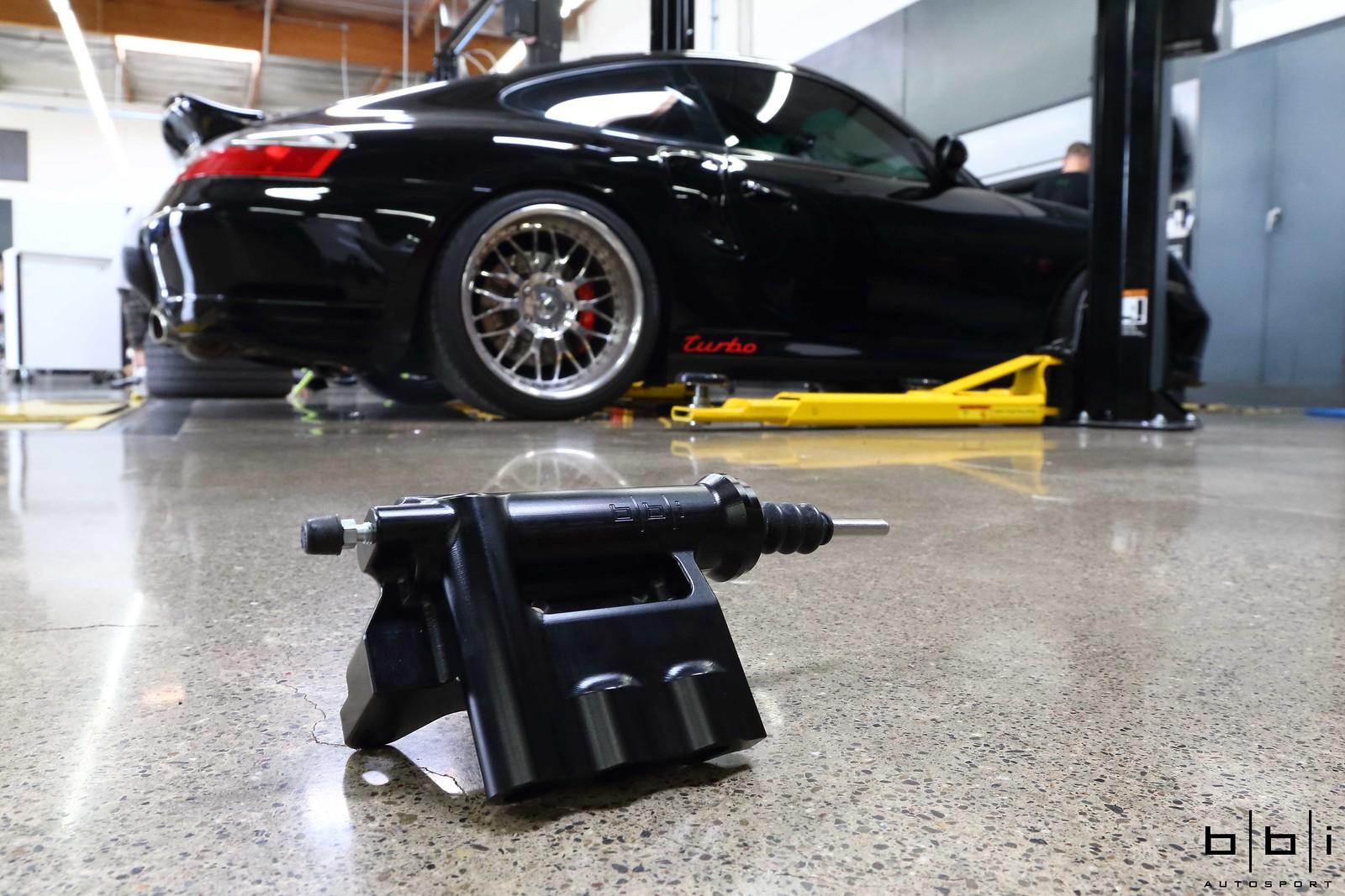 Porsche 996 Turbo Gets Bbi Autosport Clutch Slave Cylinder Ford Diagram Master Conversion Upgrade Kit