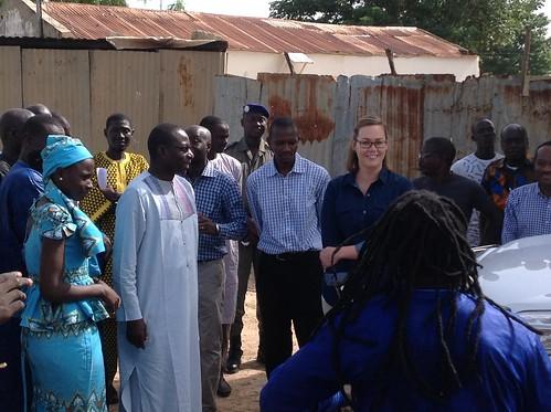 Deputy Under Secretary Alexis Taylor in Senegal