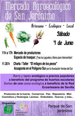 AionSur 27366340221_8d72ffc039_o_d 4º Mercadillo Agroecológico en los Huertos Sociales de San Jerónimo Medio Ambiente