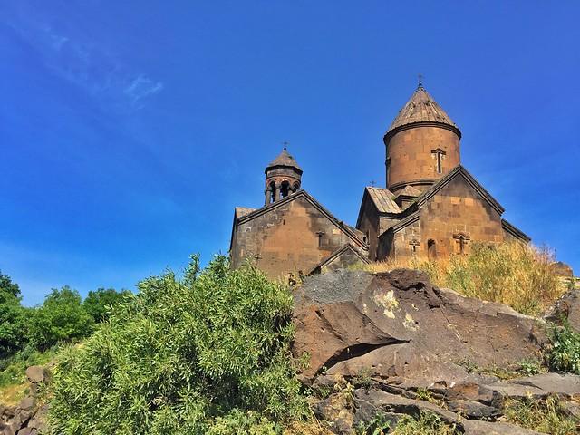 Monasterio de los Salmos en el Cañón de Kashag (Armenia)