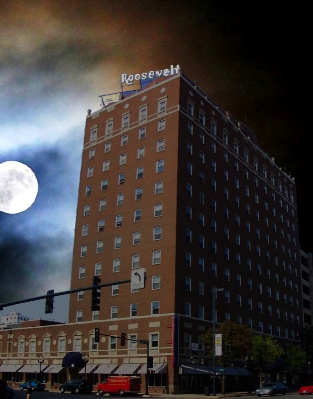 historic hotel roosevelt cedar rapids iowa moon light. Black Bedroom Furniture Sets. Home Design Ideas