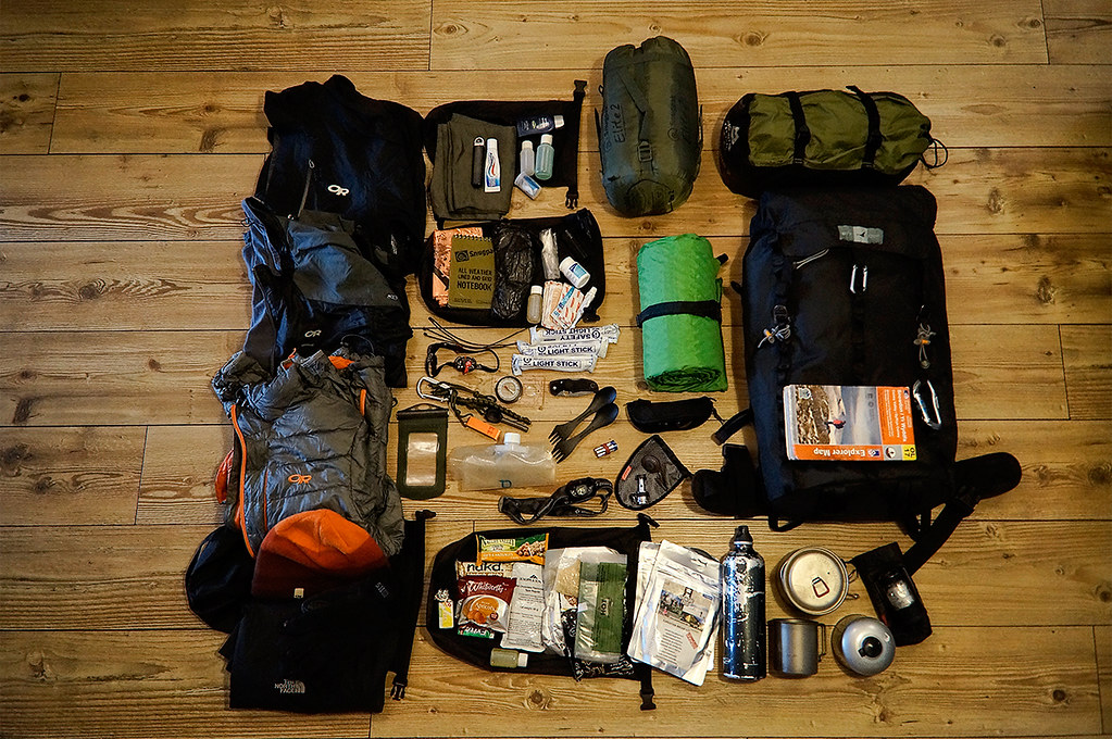 My Solo Camp Kit Www Outdoorpics Net Thought I D Get My