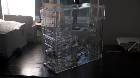 Transparentes Case Atx Acryl Geh 228 Use Durchsichtig Inkl L