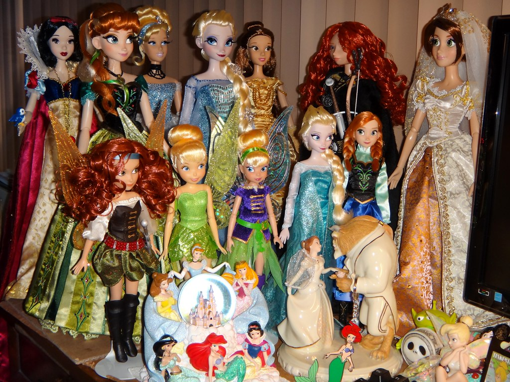 My Desktop Disney Doll Display Jakks Pirate Fairy Tinker