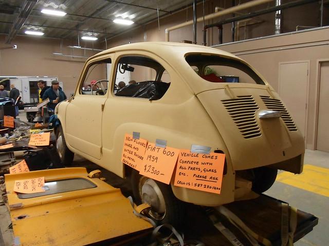 1959 Fiat 600 rear