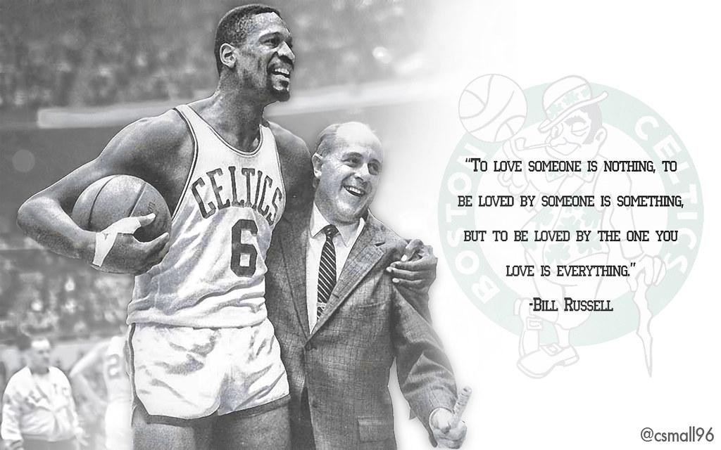 Bill Russell Background Bill Russell Celtics Wallpaper