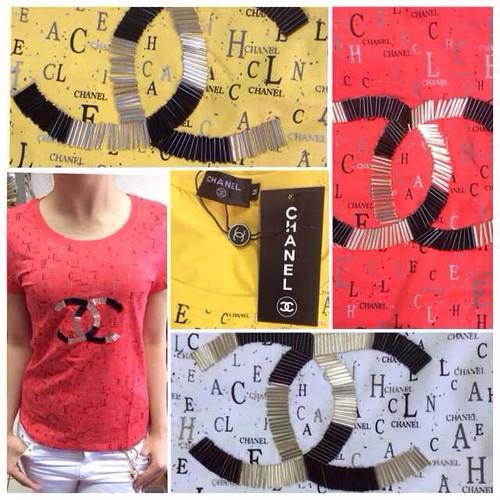 Replica Kaos Branded CK, Versace, Chanel, Burberry, YSL, D&G, Moschino