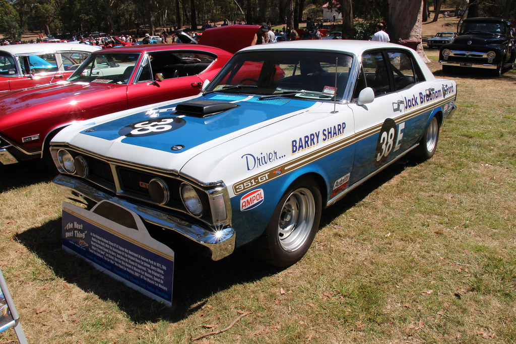 Old Ford Cars >> 1971 Ford XY Falcon GT Race Car | The XY Falcon was built fr… | Flickr