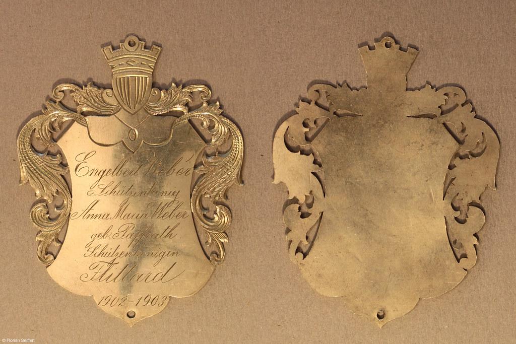 Koenigsschild Flittard von weber engelbert aus dem Jahr 1902