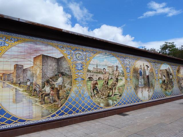 Azulejos en Talavera de la Reina