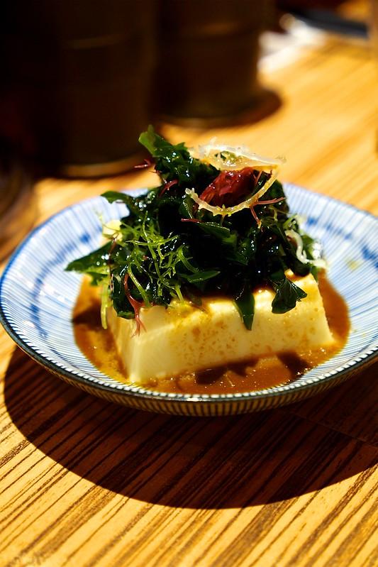 海藻涼雞蛋豆腐