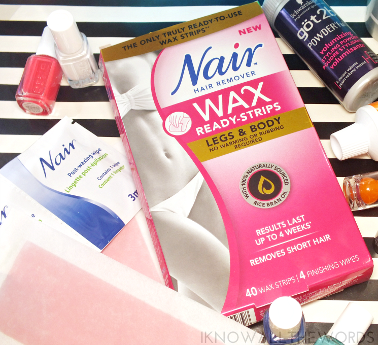 summer survival supplies nair ready wax strips body