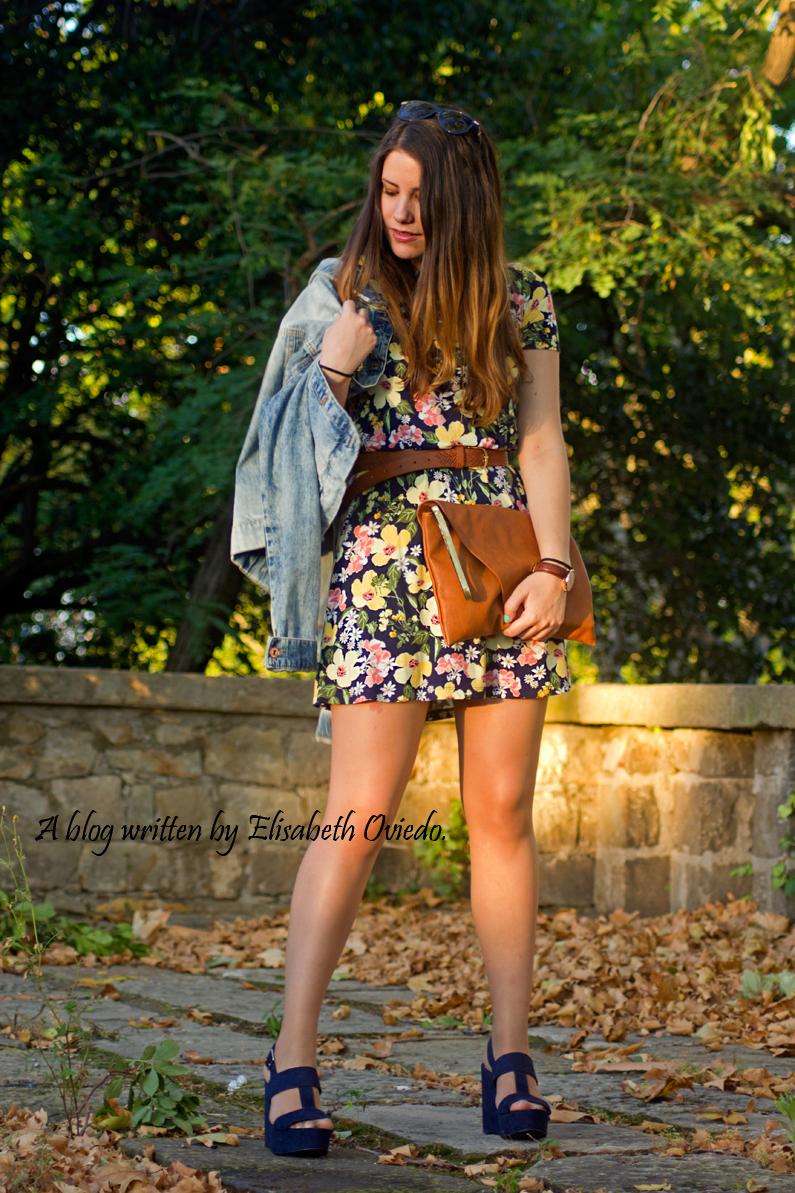 vestido floral chaqueta vaquera denim heelsandroses (5)
