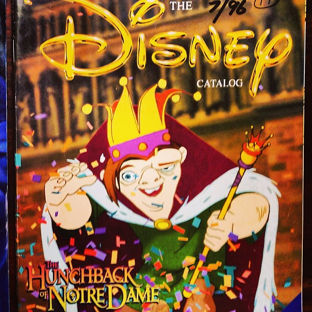 hunchback of notre dame disney store cover july 1996 issue flickr. Black Bedroom Furniture Sets. Home Design Ideas
