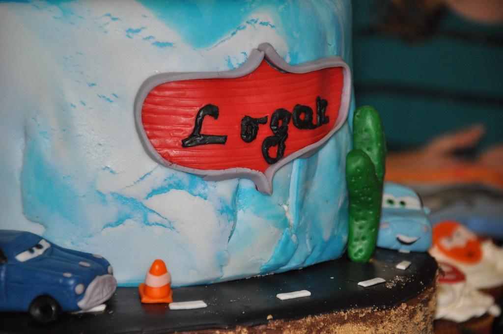 Dusty Old Cars >> Disney's Cars Planes Cake Custom Name Plate   Disney's Cars …   Flickr