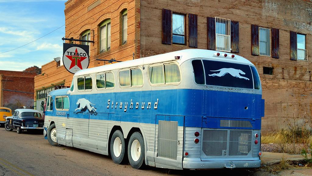 Lowell Arizona Ghost Town General Motors Greyhound Sceni