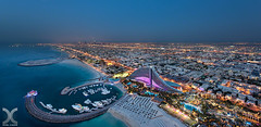 View from the Helideck of Burj Al Arab