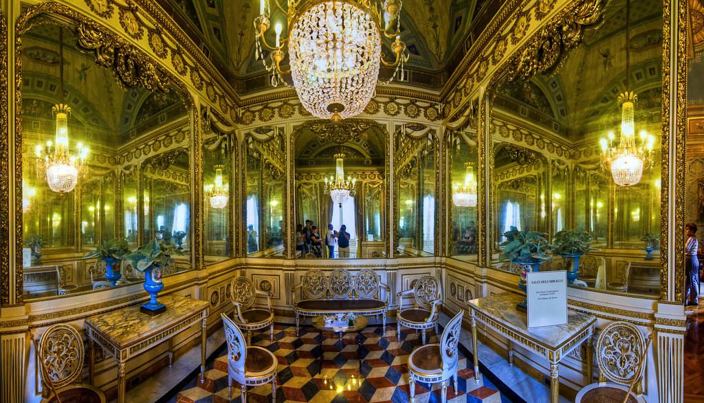 Sal n de los espejos del palacete alb niz barcelona e for Salon de espejos