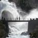 Puente en la cascada