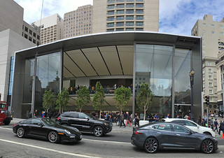 Apple Store - San Francisco Store front