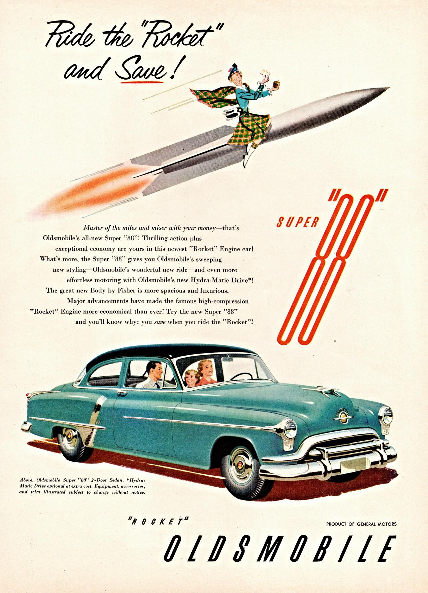 1951 Oldsmobile Super '88' 2-Door Sedan