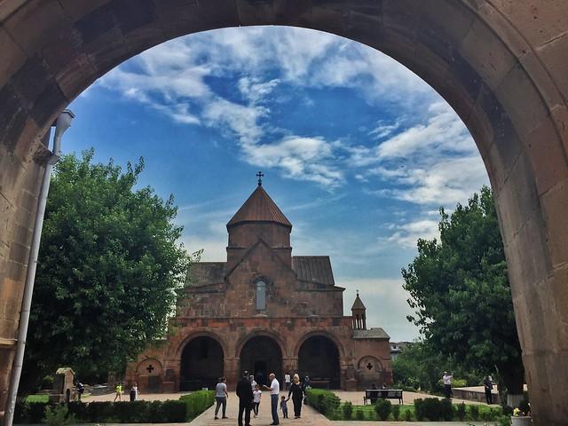 Iglesia de Santa Gayané en Echmiadzín (Armenia)