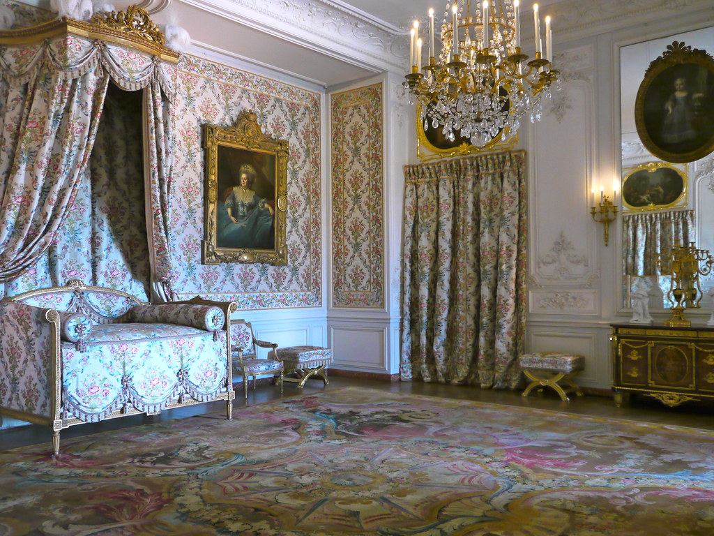 versailles yvelines chambre de madame ad la de rez de c flickr. Black Bedroom Furniture Sets. Home Design Ideas