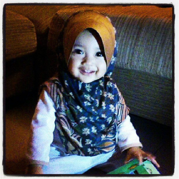 #Muslim #baby #hijab #Islam #cute #comel #arissasofia