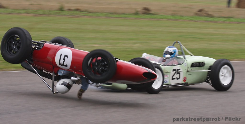 Crash At St Marys Corner Andrew Beaumont Lds Alfa Rome