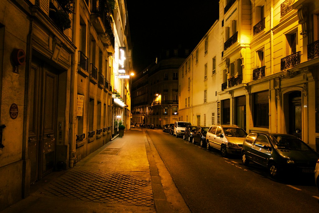 paris streets at night follow me on facebook visit my