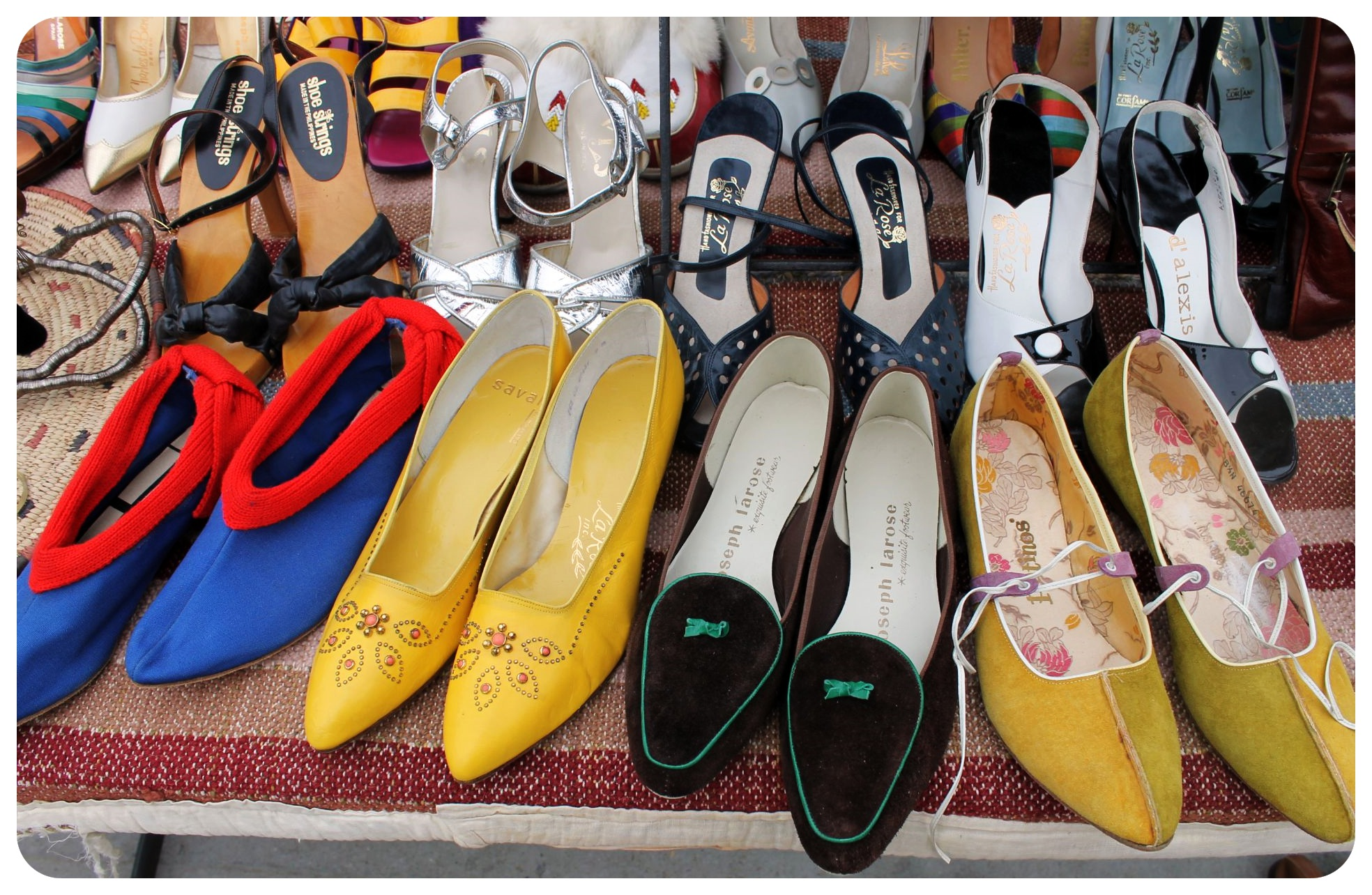 williamsburg flea market women shoes