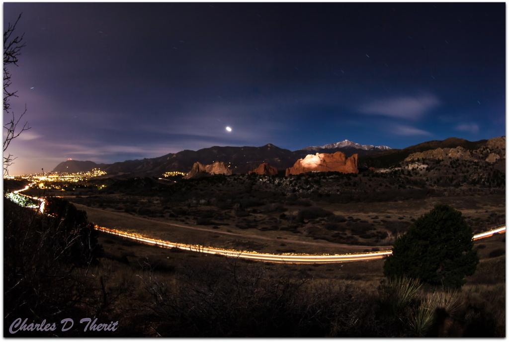 Garden Of The Gods Colorado Springs Co >> Garden Of The Gods at Night | Colorado Springs, CO - As ...