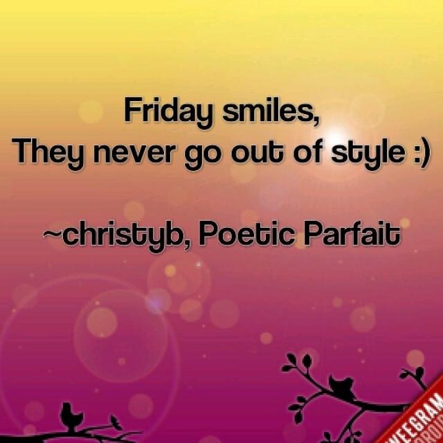 Happy Friday Quote Christy Birmingham Flickr