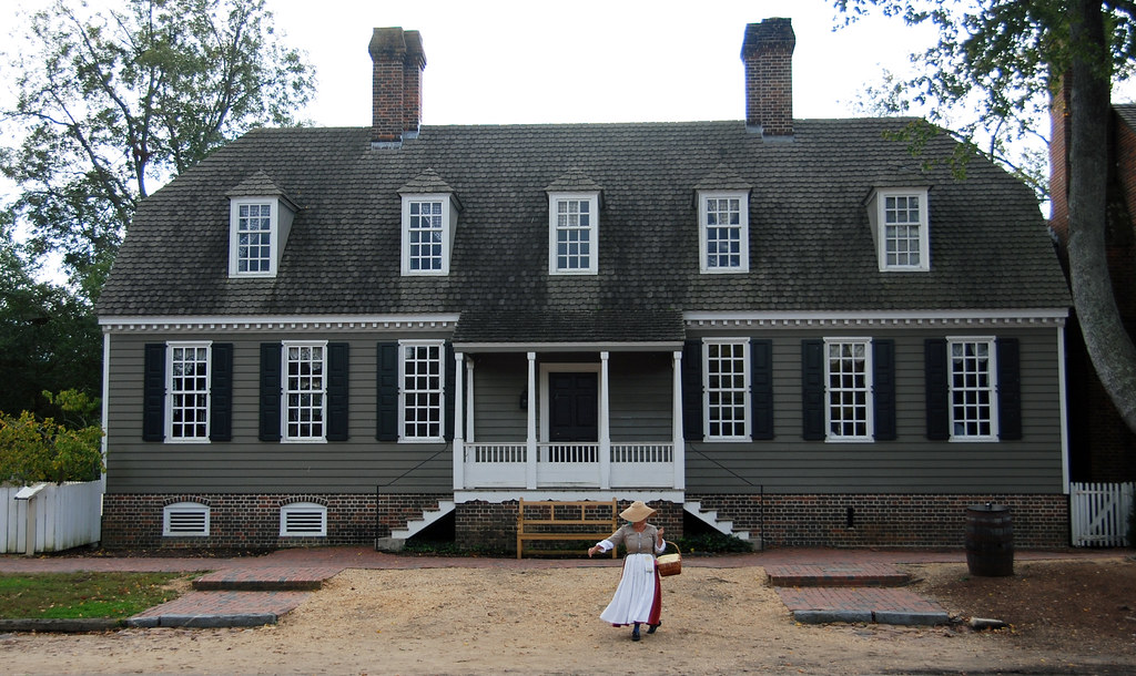 Alexander Purdie House Colonial Williamsburg 10 14 2011