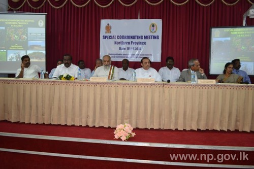 Northern Province Special Coordinating Meeting held  -  16 February 2015