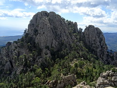 Depuis le sommet 1089 : Punta Mozza