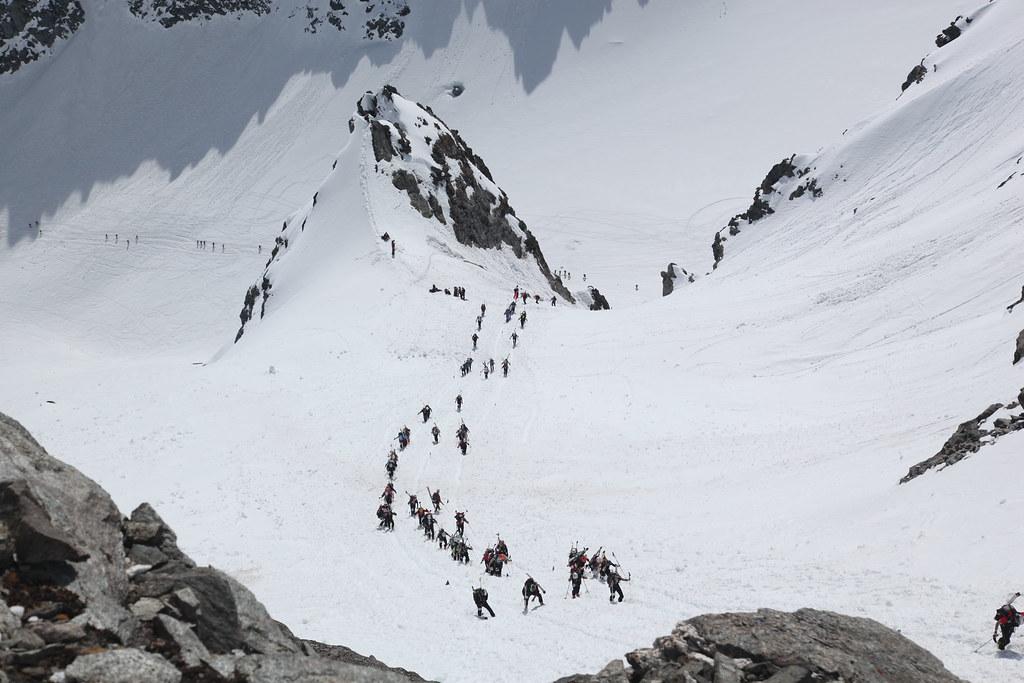 Πριν το πέρασμα Rosablanche - 3160 m.